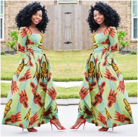 e8449fb050a ... blouse accouterments styles from our Nigerian Fashionistas appliance Applique  Ankara Designs and we like them Ähnliche Artikel Nigerian applique styles