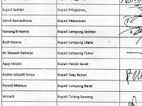 Gubernur, Bupati/Walikota Se-Provinsi Lampung Sepakat Idul Fitri 1442 Hijriah Di Laksanakan di Rumah