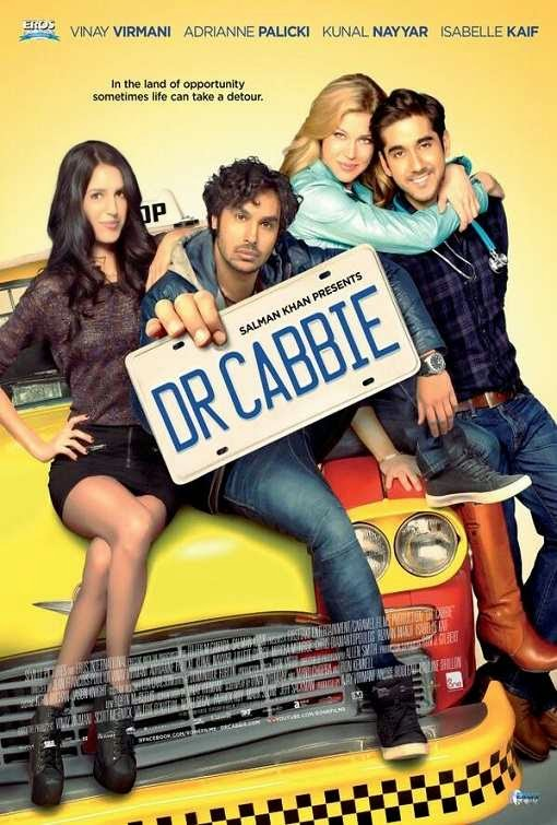 Poster Of Hindi Movie Dr. Cabbie (2014) Free Download Full New Hindi Movie Watch Online At Alldownloads4u.Com