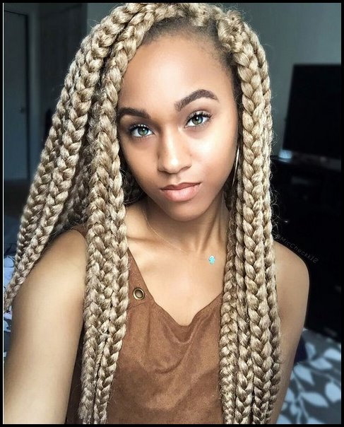 2018 African American Braided Hairstyles For African Women's