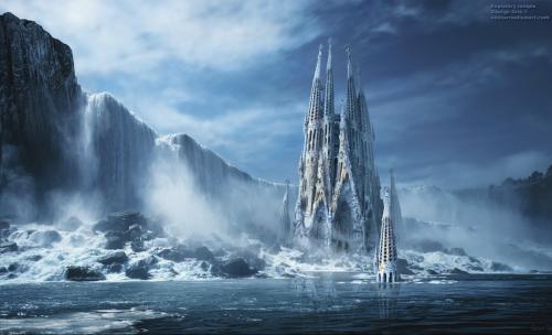 Temple Waterfall, Elven Girls