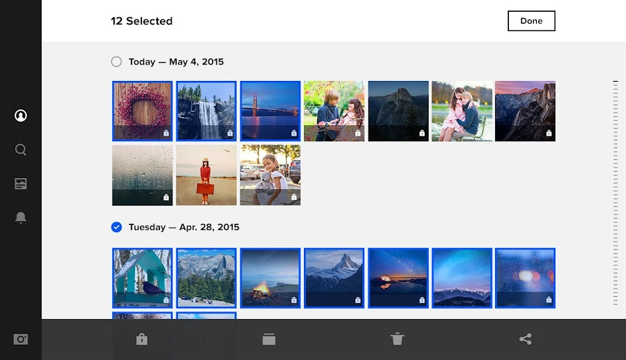 Screenshot 13 for Flickr's Android app'