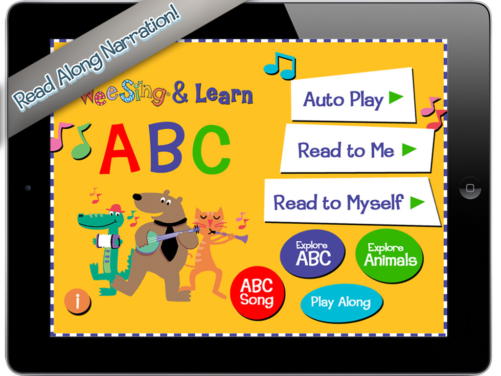 Wee Sing & Learn ABC Main Page