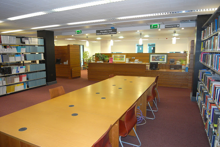 Boole Library interior photo