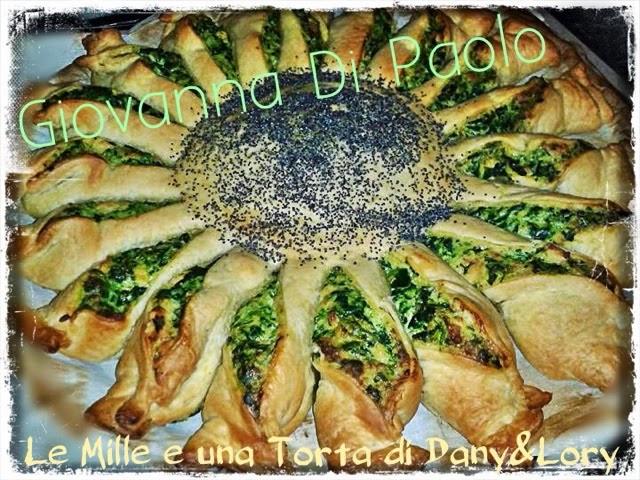 girasole con ricotta, spinaci e panna