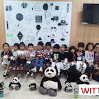 BLACK AND WHITE DAY CELEBRATION BY PLAYGROUP SECTION (2017-18) AT WITTY WORLD, BANGUR NAGAR