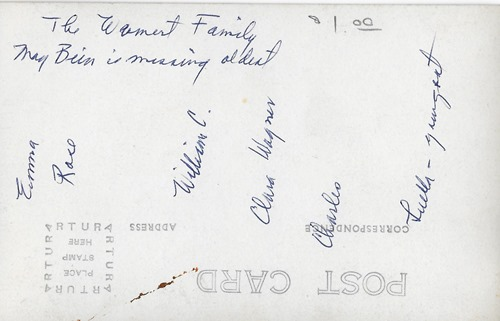 Wambert Family GR Flea Mktback
