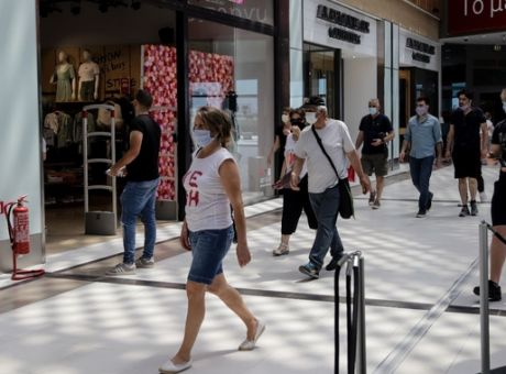 """""""Πράσινο φως"""" για άνοιγμα malls και κέντρων αισθητικής με ραντεβού"""