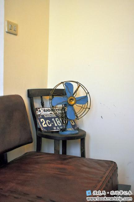 Butter巴特早午餐老式電風扇