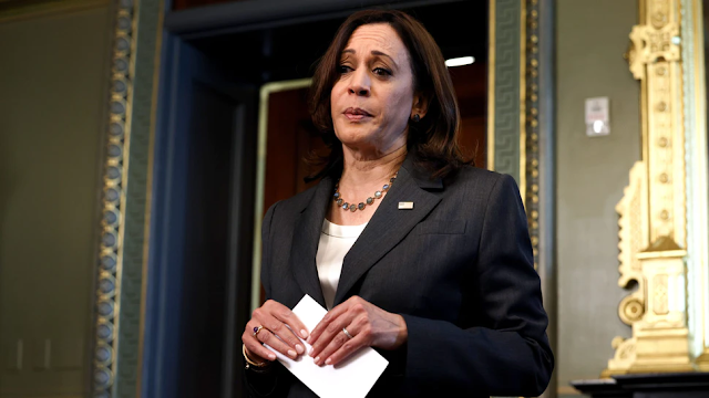 WATCH: Kamala Harris Grilled At International Press Conference On Why She Has Not Gone To Border