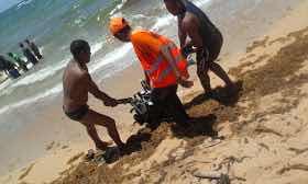 Rescata seis ocupantes embarcación zozobró en Nisibón