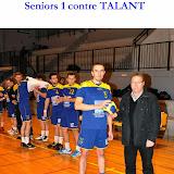 Seniors masculins 1 contre Talant (08-12-12)