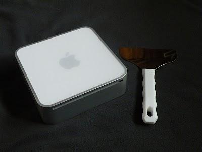 Mac mini専用スクレーパー とMac mini