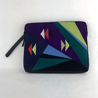 New Lizzie Fortunato Abstract Stitched Bag