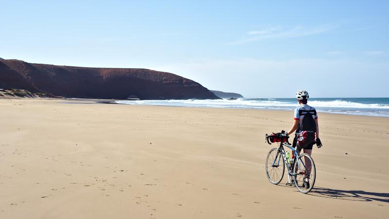 Plajele pustii si intinse ale Atlanticului