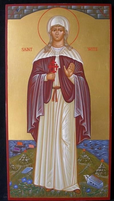 Icon of St Wite from Icon Painter