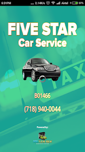 Five Star Car Service screenshot 0