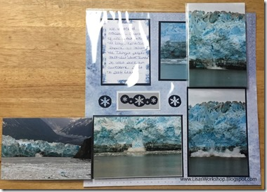Glacier Paper Pack & Peekaboo Pages - Lisa's Workshop