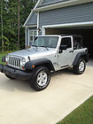 "2007 Jeep Wrangler X Sport Utility 2-Door 3.8L ""MINT LIKE NEW and LOW MILES"""
