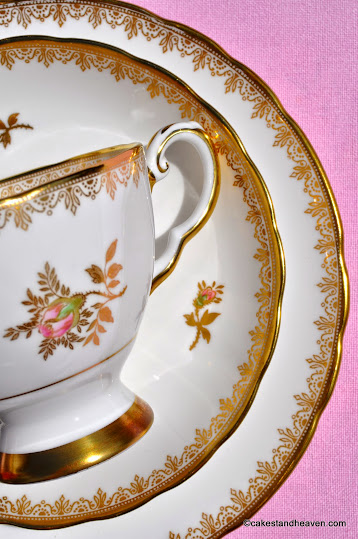 R.H. and S.L.Plant Tuscan China Trio