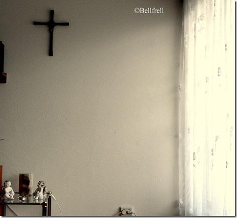 Freier Blick aufs Kreuz
