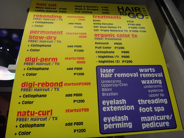 Hair To Go Cold Perm Treatment