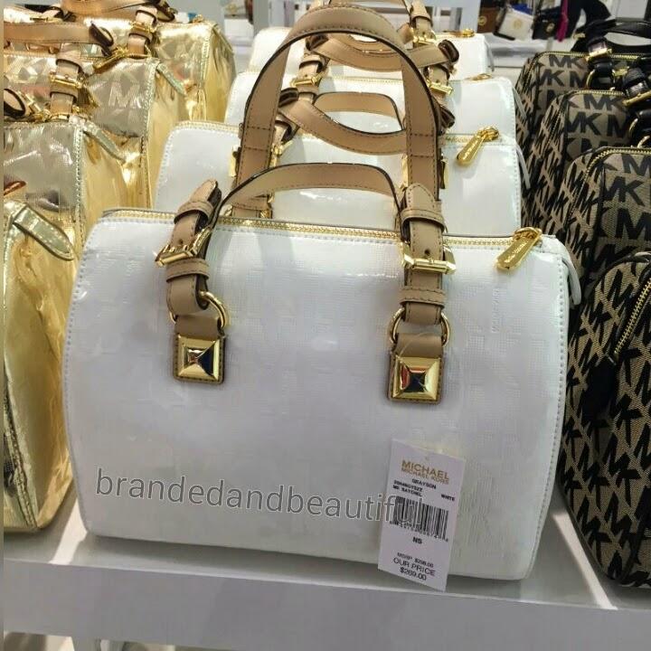 b9f9795d3c83 ... handbag cb5a9 a60f7 ebay michael kors grayson medium satchel b65fa  56208 ...