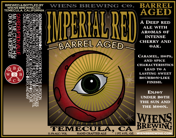 Logo of Wiens Barrel Aged Imperial Red