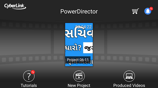 How to edit in powerdirector hindi