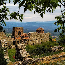 Ruins in Greece, abandoned, nature by Monita Alstadsæter - Buildings & Architecture Decaying & Abandoned ( old home, ruins )