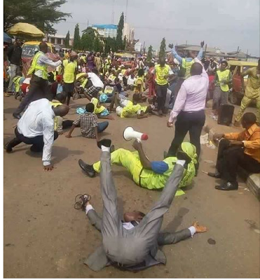See What Lord's Chosen Church Members Were Spotted Doing In Public Again