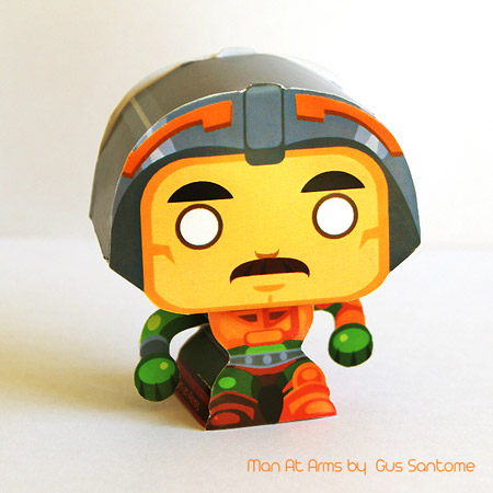 Man-at-Arms Papercraft