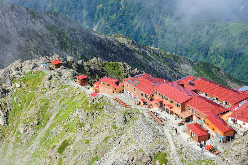 槍ヶ岳山荘の写真
