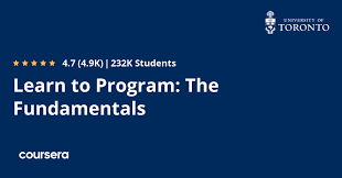 free programming course from Coursera