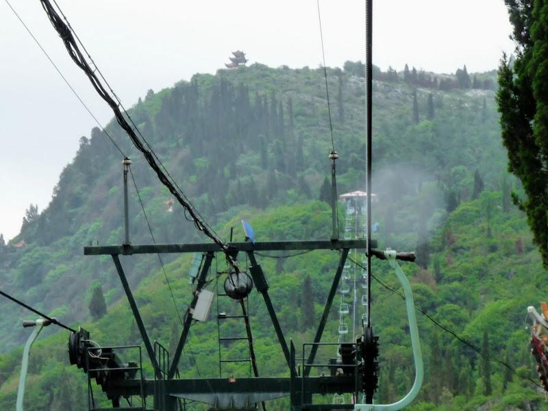 CHINE.YUNNAN.KUNMING , temple Lac Dian Chi - P1270754.JPG