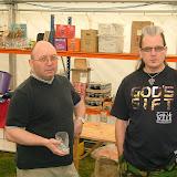 Newark beer festival workers May 2009