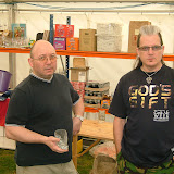 Newark beer festival workers May 2009