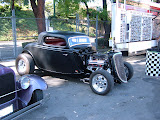 Joe's hot rod ford. Joe bought many parts from me.