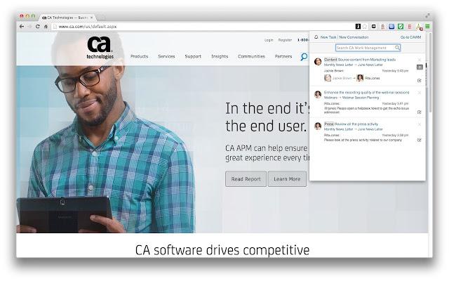 CA Work Management