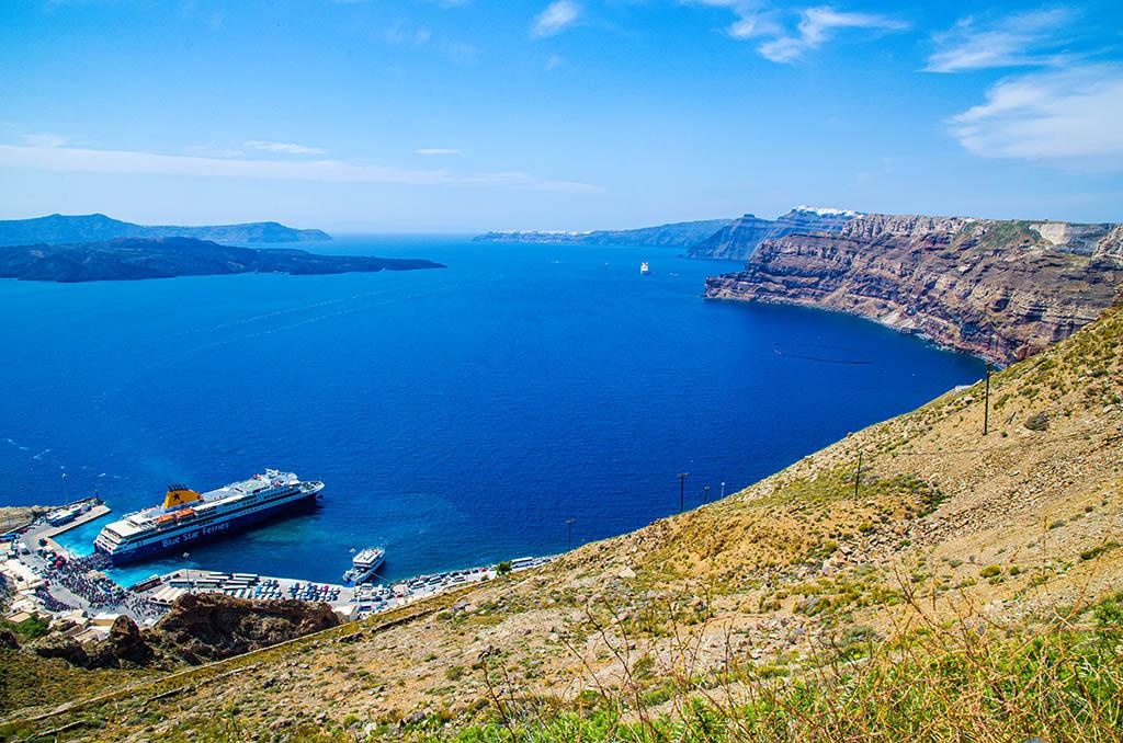 希臘 愛琴海 聖多里尼 Greece Greek island Santorini
