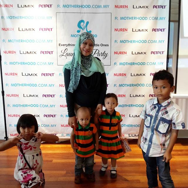 Majlis Perasmian Portal Membeli Belah Secara Online di motherhood.com.my