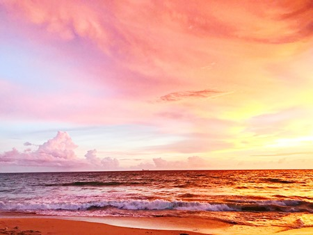 Sunset Brilliance | Lavender & Twill