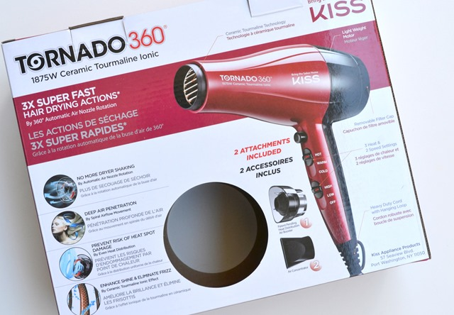 KISS Tornado Ionic Hair Dryer Review (1)