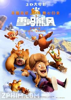Gấu Bự Núi Tuyết - Boonie Bears: Mystical Winter (2015) Poster