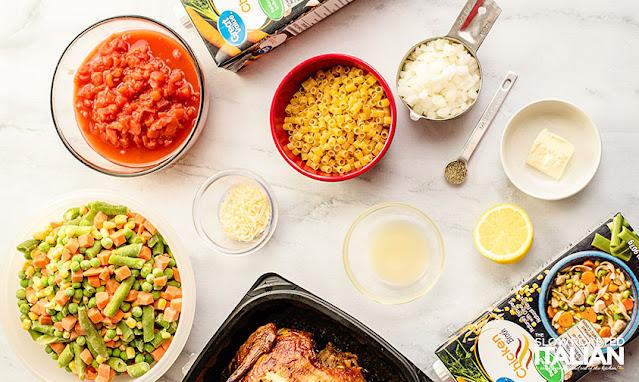 chicken vegetable soup ingredients