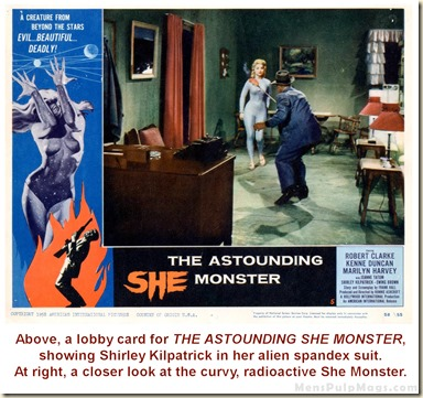 THE ASTOUNDING SHE MONSTER lobby card 2A