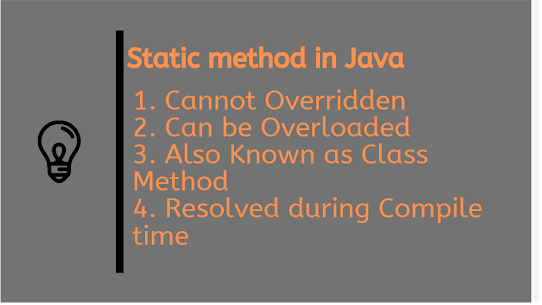 Can we Overload static method in Java? Program - Example