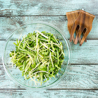 Zucchini, Green Bean, and Chile Slaw