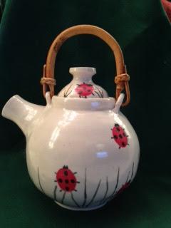 Lady Bug Tea Pot