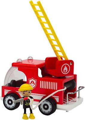 Đồ chơi Xe cứu hỏa bằng gỗ Hape Fire Truck